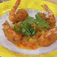 Coconut Shrimp with Pineapple Habanero Chutney Recipe