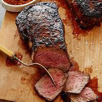 Coffee Rubbed Rib-Eye Recipe