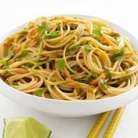 Cold Curry-Peanut Noodles Recipe