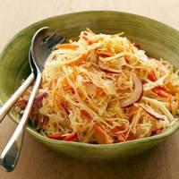 Coleslaw with Cumin-Lime Vinaigrette Recipe