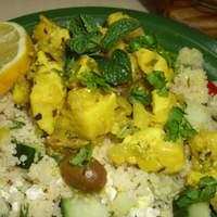 Coriander Chicken Couscous Recipe