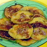 Corn Cakes with Walnuts and Sage Recipe