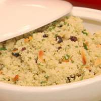 Couscous with Currants, Almonds, and Parsley Recipe