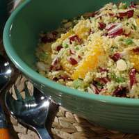 Couscous with Orange and Almonds Recipe