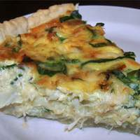 Crab and Swiss Quiche Recipe