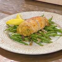 Crabmeat-Stuffed Flounder Roulades Recipe