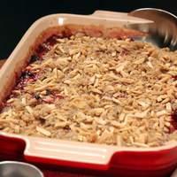 Cranberry Almond Crumble Recipe