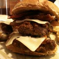 Creamy Blue Cheese-Infused,onion & Bacon Cheeseburger Slider Recipe