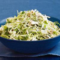 Creamy Coleslaw With Grapes and Walnuts Recipe