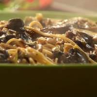 Creamy Mushroom Spaghetti Recipe