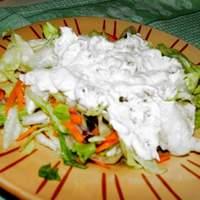 Creamy Pancetta Dressing and Iceberg Lettuce Recipe