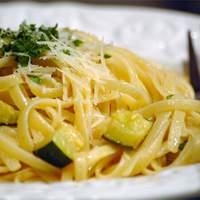 Creamy Zucchini with Linguine Recipe