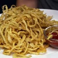 Crisp Onion Rings, Spiced Ketchup Recipe