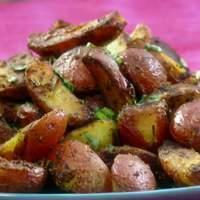 Crispy Coriander Potatoes Recipe