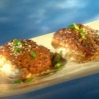 Crispy Potato Nugget Hoisin Halibut Recipe