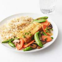 Crispy Tofu With Vegetables Recipe