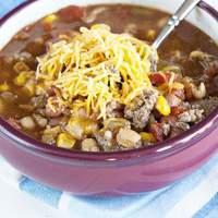 Crock Pot Taco Soup Recipe