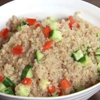 Cucumber-Bell Pepper Quinoa Recipe