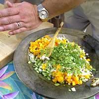 Cucumber-Papaya Salad Recipe