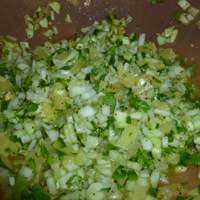 Cucumber Pineapple Salsa With Dried Cranberries Recipe