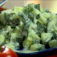 Cucumber Salad with Dill Recipe