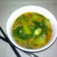 Cumin Bok Choy Stew Recipe