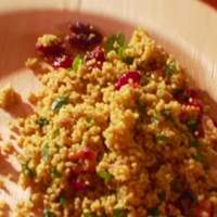 Curried Couscous Salad with Dried Sweet Cranberries Recipe