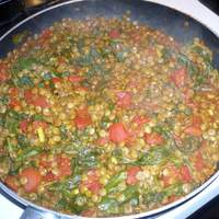 Curried Lentils Recipe