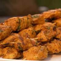 Curry Chicken Skewers Recipe