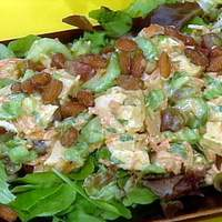 Curry-in-a-Hurry Rotisserie Chicken Salad Recipe