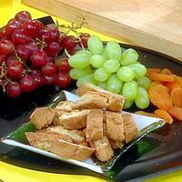 Dessert Wines, Cookies, Fresh and Dried Fruits Recipe