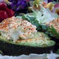 Deviled Egg Stuffed Avocados! Recipe