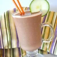 Don't Knock it Until You Try it Zucchini Chocolate Banana Nut Milkshake Recipe