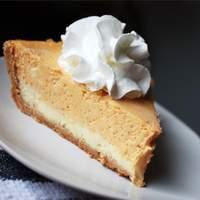 Double Layer Pumpkin Cheesecake Recipe