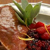 Duck Breast with Berry Sauce Recipe