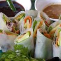 Duck Spring Rolls With Dipping Sauces Recipe