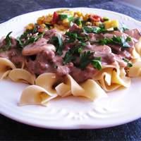 Easy Beef Stroganoff Recipe