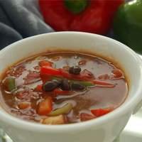 Easy Chicken Fajita Soup Recipe