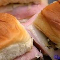 Easy Ham and Cheese Appetizer Sandwiches Recipe