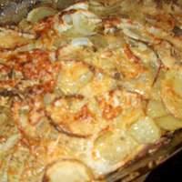 Easy Parmesan Potato Rounds Recipe