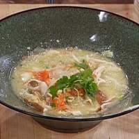 Egg Drop Shrimp Noodle Soup Recipe