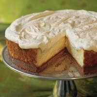 Eggnog Cheesecake With Gingersnap Crust Recipe