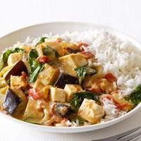 Eggplant and Tofu Curry Recipe