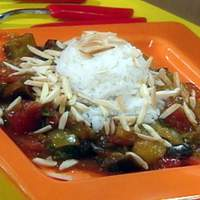 Eggplant Curry with Toasted Almonds Recipe