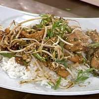 Emeril's Chicken Stir-Fry with Green Beans Recipe
