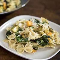 Farfalle with Roasted Winter Vegetables & Parmigiano-Reggiano Cheese Recipe