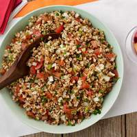 Farro Salad with Tomatoes and Herbs Recipe