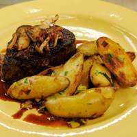 Filet Mignon with Mushroom Red Wine Sauce Recipe