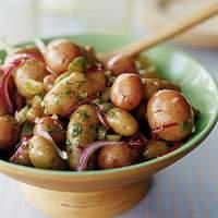 Fingerling Potato Salad with Cornichon Vinaigrette Recipe