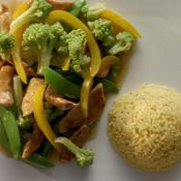 First Moon Chicken Stir-Fry Recipe